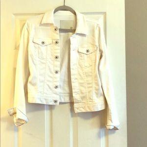 AG White Women's Denim Jacket in Medium